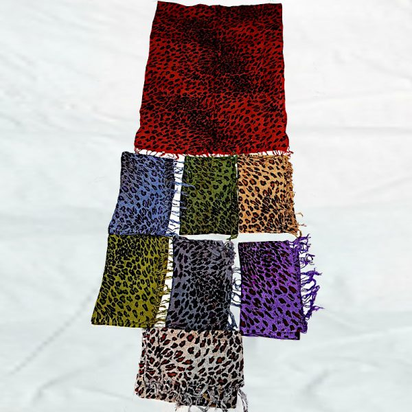 Cotton Printed Stoles Animal Prints